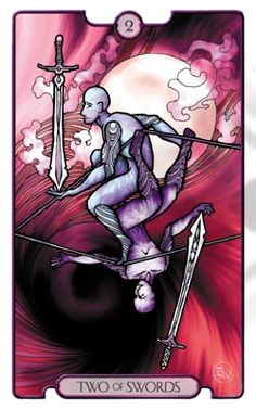 Revelations Tarot Two of Swords - Pesquisa do Google