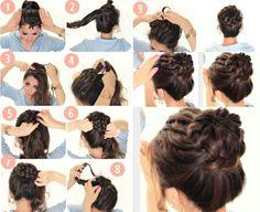 Die 7 Besten Bilder Von Einfache Frisuren Lange Haare Hair Makeup