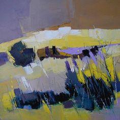sélection de peintures représentatives Abstract Landscape Painting, Watercolor Landscape, Landscape Art, Landscape Paintings, Abstract Art, Contemporary Landscape, Contemporary Artists, Impressionist Art, Art Plastique