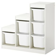 Ikea Trofast Storage, Ikea Kura, Trofast Regal, Kallax Regal, Wall Storage, Storage Boxes, Toy Boxes, Toy Organizer Ikea, Lineup