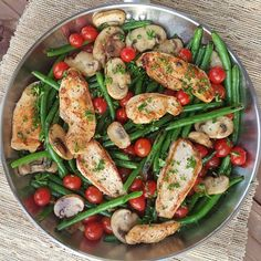 Balsamic Chicken Tenders w/ Veggies: leave the lemon out of the dressing and add a small amount of vinegar if necessary.