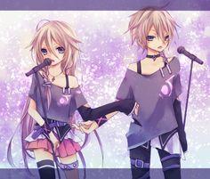 Vocaloid IA and IO