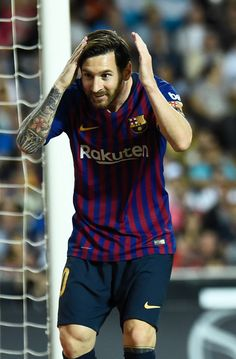 Barcelona's Argentinian forward Lionel Messi celebrates scoring a. Girl Football Player, Football Boys, Football Match, Football Players, Fc Barcelona Wallpapers, Lionel Messi Wallpapers, Barcelona Players, Lionel Messi Barcelona, Leonel Messi