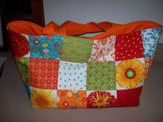 Charm square bag on the other side