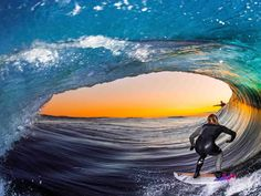 Surf Photo of the Year Winner: I Looked Up, And It Was as Perfect a Barrel as I've Ever Seen - Magicseaweed.com
