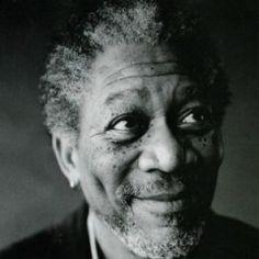 Hoping that I age as gracefully as Morgan Freeman.