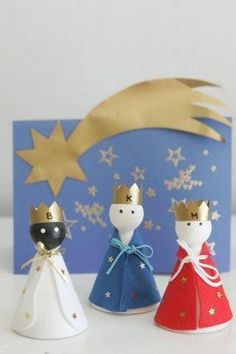 Christmas Activities, Christmas Crafts For Kids, Christmas Themes, Kids Christmas, Merry Christmas, Christmas Decorations, Christmas Ornaments, Les Trois Rois Mages, Epiphany Crafts