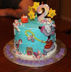 Toopy Binoo Birthday Cake :-D! Baby First Birthday, Birthday Cake, Cupcake Cookies, Cupcakes, Birthday Ideas, Birthday Parties, First Birthdays, Jackson, Party Ideas