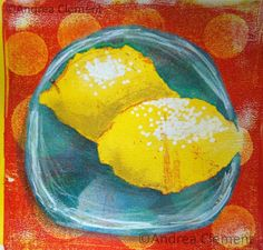 #paintseptember day12: acrylic monoprint