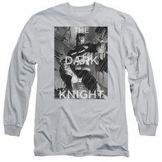 Adult Batman/Fighting the Storm Long Sleeve