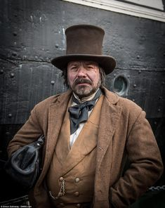 Award-winning reenactment group The Ragged Victorians have flooded the SS Great Britain full of cast members playing impoverished and crooked characters