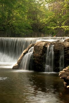 Round Falls in North Baltimore (http://www.starspangledtrails.org/trail-9.html)