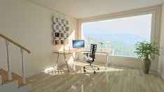 Letting The Sunshine In Small Office Design, Home Office Design, Work From Home Companies, Legit Work From Home, Office Makeover, Room Setup, Interior Exterior, Home Look, Decor Styles