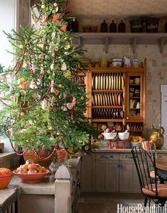 Kitchen Design Ideas with Christmas Tree