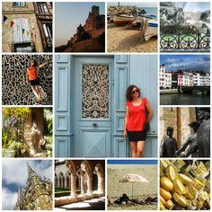 South France summer trip. Photo tiles mosaic. ANIA W PODRÓŻY travel blog and photography