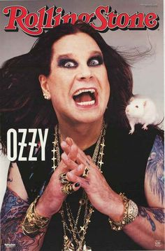 Ozzy Osbourne posters for sale online. Buy Ozzy Osbourne movie posters from Movie Poster Shop. We're your movie poster source for new releases and vintage movie posters. Ozzy Osbourne, Rolling Stones, Metallica, Rolling Stone Magazine Cover, Black Label Society, Heavy Metal Music, Music Magazines, Rock Legends, Black Sabbath