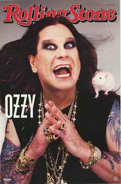 Ozzy Osbourne Rolling Stone Poster 22x34 – BananaRoad