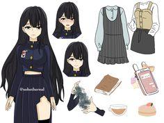 Oc Manga, Anime Oc, Manga Anime, Anime Warrior Girl, Naruto Oc, Girl Gifs, Character Outfits, Anime Outfits, Cute Drawings