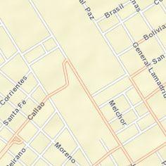 Mapa de Escobar, pcia. de Buenos Aires, Argentina - Rutas, hoteles, servicios y mas