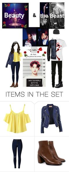 """""""My Beast ~ Park Chanyeol"""" by em-kpop ❤ liked on Polyvore featuring art"""