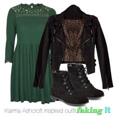 Karma Ashcroft inspired outfit/Faking it by tvdsarahmichele