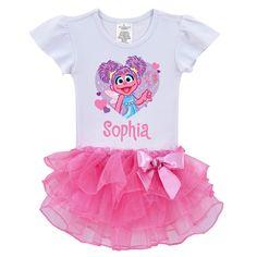 The Official PBS KIDS Shop | Sesame Street Abby Cadabby Twinkle Tutu Shirt