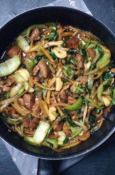 Chicken & Pak Choi in Oyster Sauce | Gluten Free Chinese Recipe
