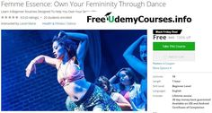 [Udemy #BlackFriday] Femme Essence: Own Your Femininity Through #Dance   About This Course  Published 11/2016English  Course Description  Improve your body confidence while having fun by learning these easy-to-follow dance routines!  Have you always wanted to learn how to dance but feel like you lack rhythm?  Have you always wanted to build confidence in your body but didn't know where to start?  Have you always wanted to feel comfortable in your own skin?  I totally get you because me and…
