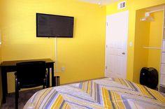 """2nd bedroom with 42"""" flat screen tv and desk area. - Key West Top Floor Condo """"Seaside Breeze"""" -Monthly -  - rentals"""