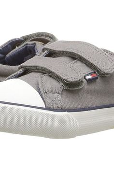 Tommy Hilfiger Kids Cormac Core HL (Toddler/Little Kid) (Gray) Kids Shoes - Tommy Hilfiger Kids, Cormac Core HL (Toddler/Little Kid), 000407764700-050, Footwear Closed Lace up casual, Lace up casual, Closed Footwear, Footwear, Shoes, Gift, - Street Fashion And Style Ideas