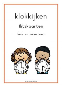 6 Games to practice watching the clock (full and half hours) – jufbijtje. Education Humor, Primary Education, Educational Leadership, Educational Technology, Mobile Learning, Kids Learning, Craft Activities For Kids, Math Activities, High School Counseling