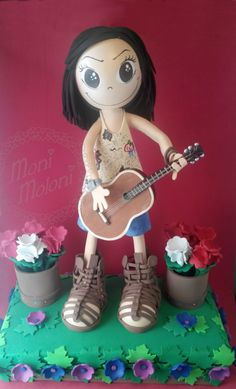Fofucha con guitarra para Helen