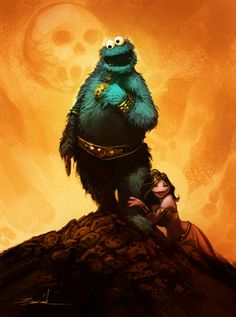 CookieMonster by natebaertsch.deviantart.com on @deviantART