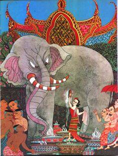 Kings-White-Elephant, Errol le Cain