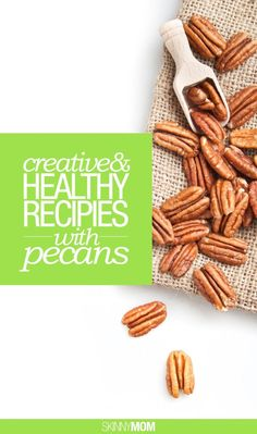 Healthy recipes to cook that use pecans.