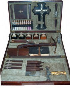 "The Vampire Killing Kit or ""The accoutrements for the eradication of vampires"""