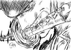 One Piece: Roronoa Zorro by l3lackMonkey.deviantart.com on @DeviantArt