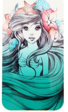 Little Mermaid Tattoo Idea