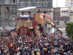 L'éléphant de Royal de Luxe, Nantes