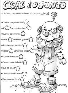 Essas atividades são para treinar os sinais de pontuação!