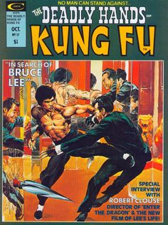 Cool Bruce Lee comicbook