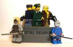 Metal Gear 25th Anniversary custom LEGO