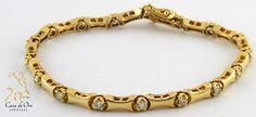 Diamond Bracelet 14K Yellow 1.0ctw