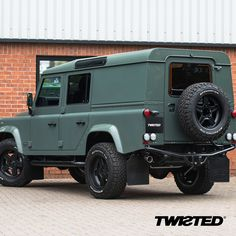 A colour representing the perfect balance between heritage and modernity, Keswick Green. #Defender #LandRover #LandRoverDefender #AntiOrdinary #DefenderRedefined #Redefined #Details #Yorkshire #Handmade #Handcrafted #4x4 #Style #Lifestyle