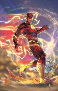 The Flash by Jim Lee ross marvel frost four ramos kirby lee deodato surfer bianchi men Arte Dc Comics, Flash Comics, The Flash New 52, The Flash Art, Comic Books Art, Comic Art, Jim Lee Art, Flash Wallpaper, Univers Dc