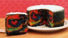 Youchef.tv - Torta arcobaleno (Rainbow Cake)