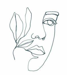 Female Face Drawing, Woman Drawing, Female Art, Minimal Drawings, Art Drawings, Coloring Book Art, Minimalist Painting, Plate Art, Diy Canvas Art