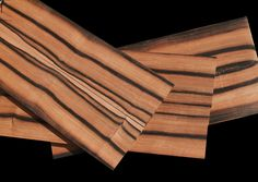 Black Variegated Borneo Ebony – Remarkably Rare!