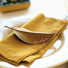 5 Simple Ideas for Fall Place Cards