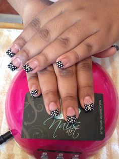 Acrylic nails, nails art